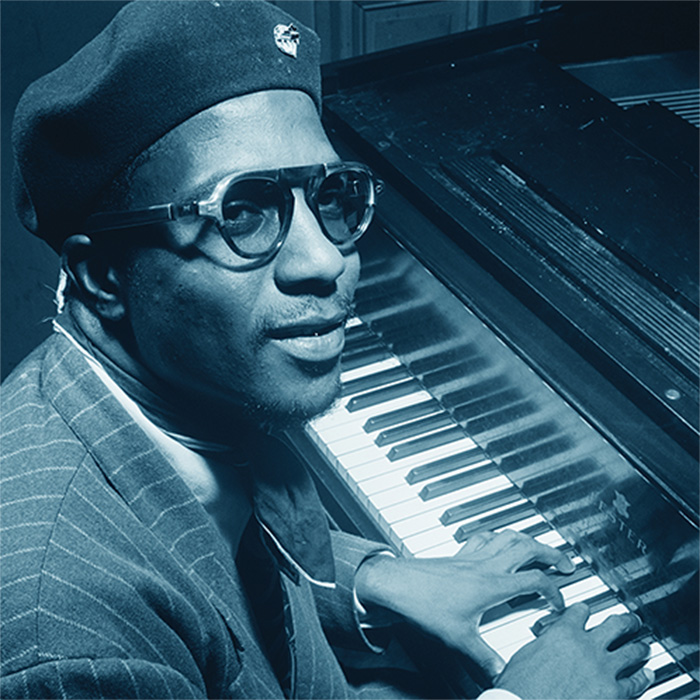 Caption: Thelonious Monk