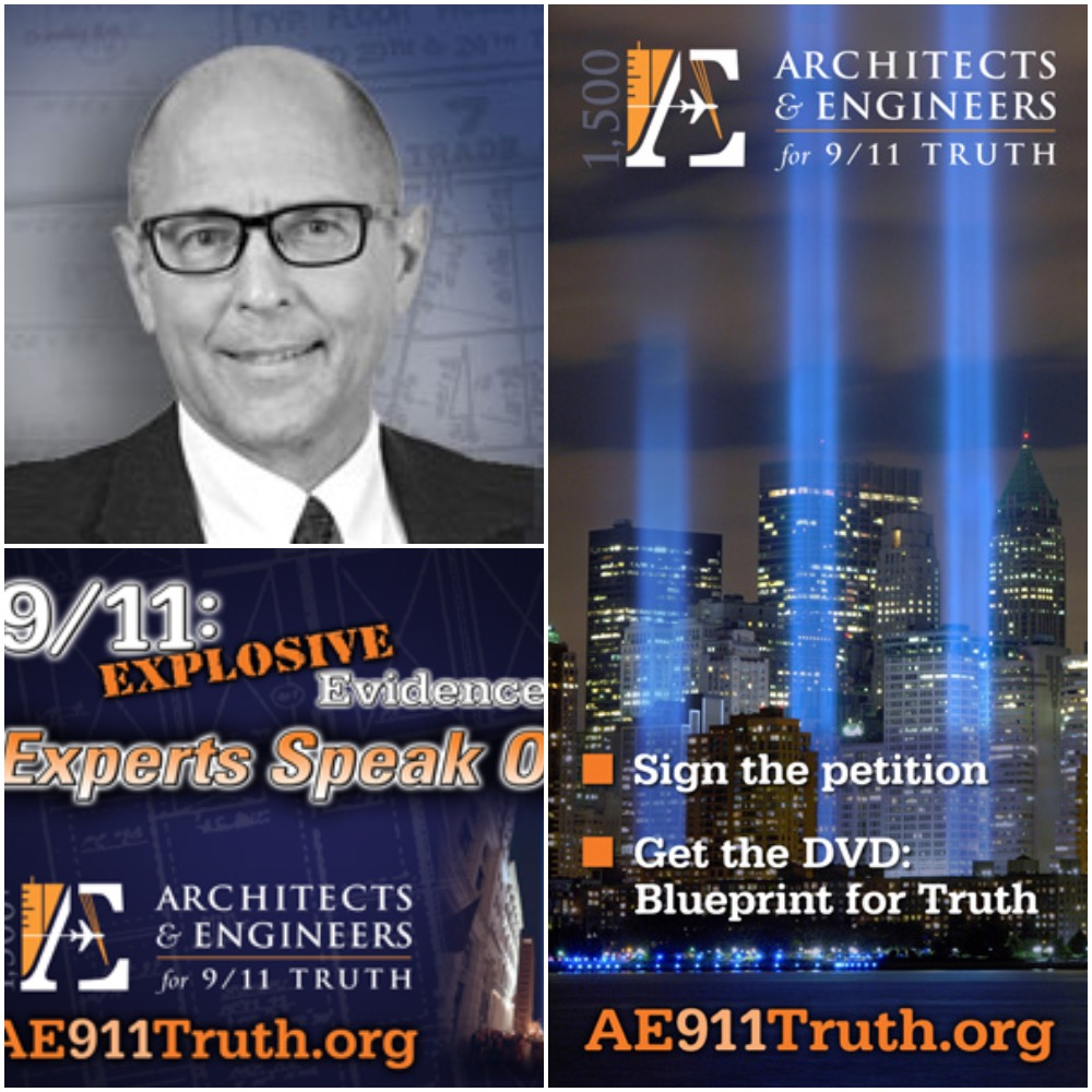 Caption: Richard Gage, AIA, Founder of Architects and Engineers of 9/11 Truth