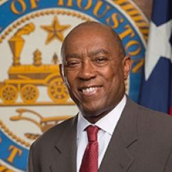 Caption: Sylvester Turner, Mayor, Houston, Texas