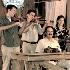 Caption: Savoy Family Cajun Band
