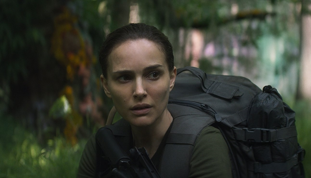 Caption: Natalie Portman in Alex Garland's 'Annihilation'