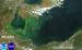 Caption: 2014 algae bloom in Lake Erie, Credit: NASA