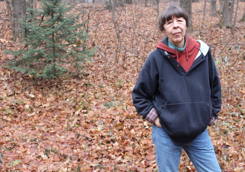 Caption: Rita McNamara is concerned about plan for landfill near her home., Credit: Morgan Springer