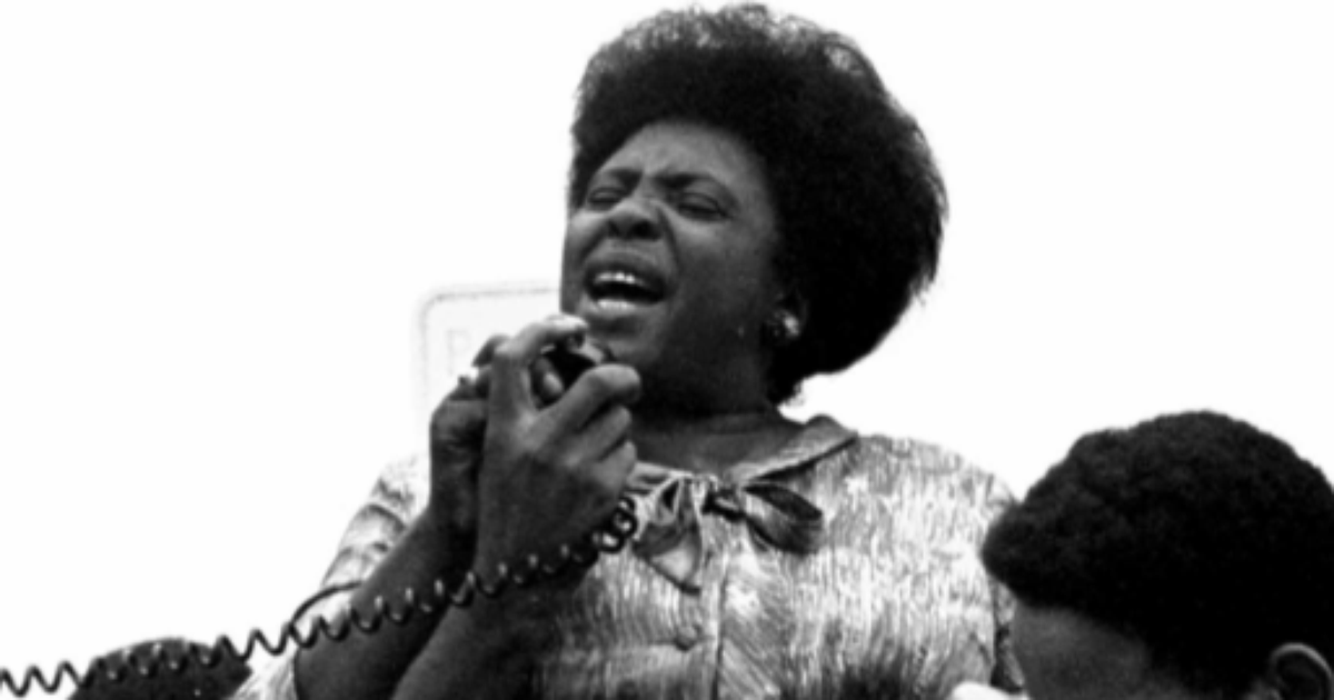Caption: Fannie Lou Hamer