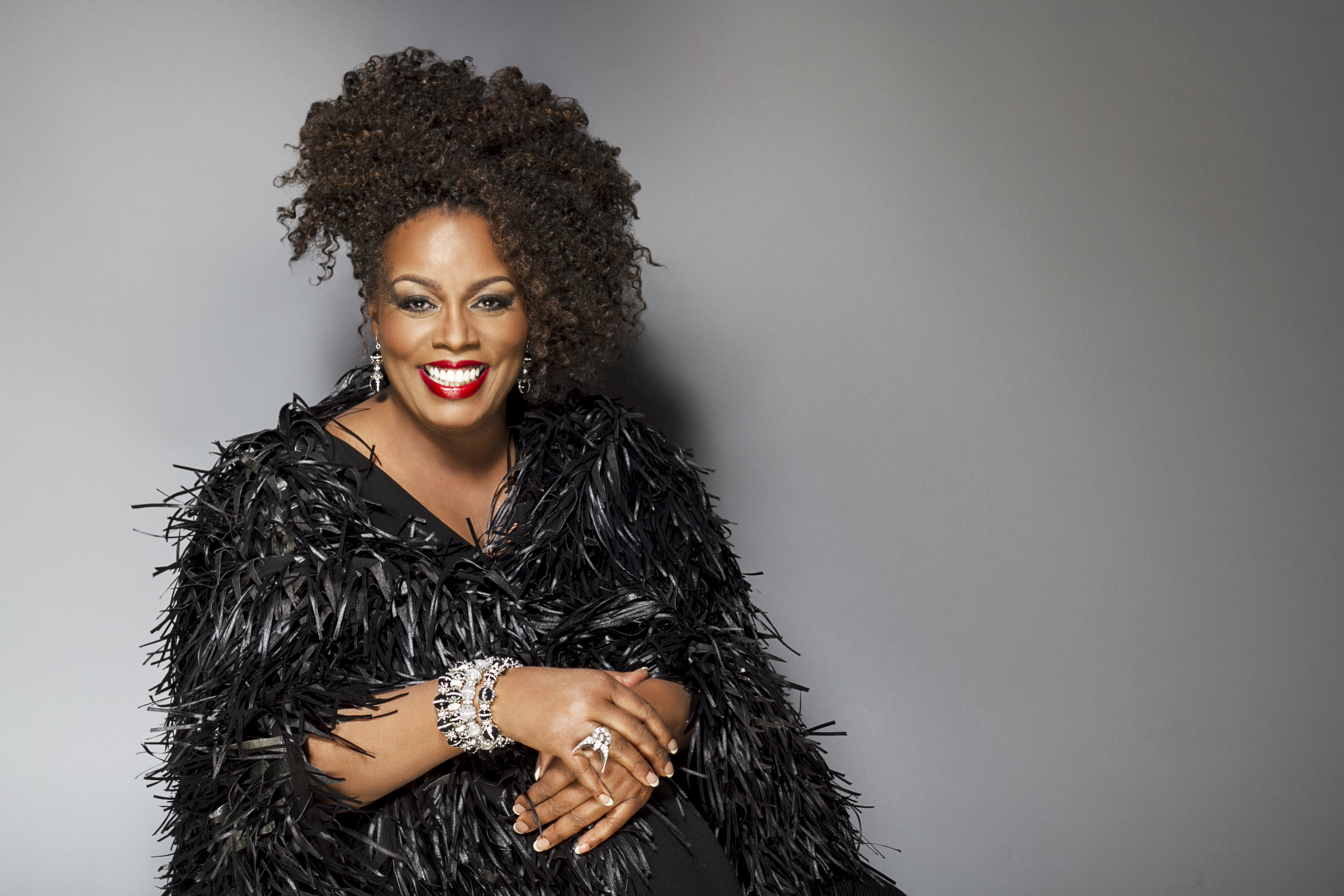 Caption: Dianne Reeves, Credit: jerry Madison