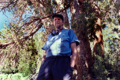 Caption: Backcountry Ranger George Durkee