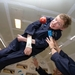 Caption: Physicist Stephen Hawking enjoys zero gravity during a flight aboard a modified Boeing 727 aircraft owned by Zero Gravity Corp. (Zero G), Credit: Jim Campbell/Aero-News Network