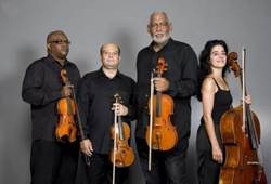Caption: Havana String Quartet