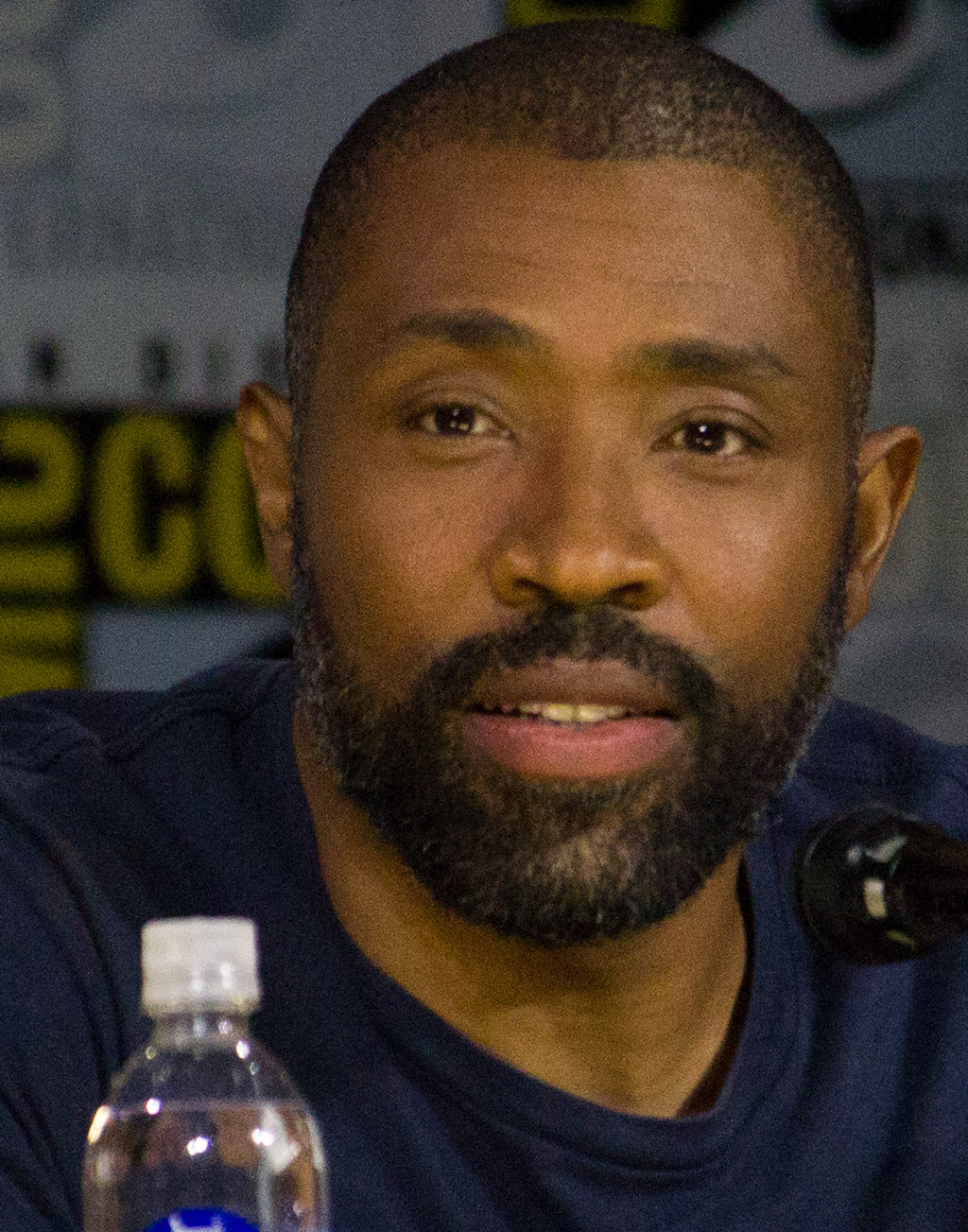 Caption: Cress Williams at 2018 San Diego Comic Con