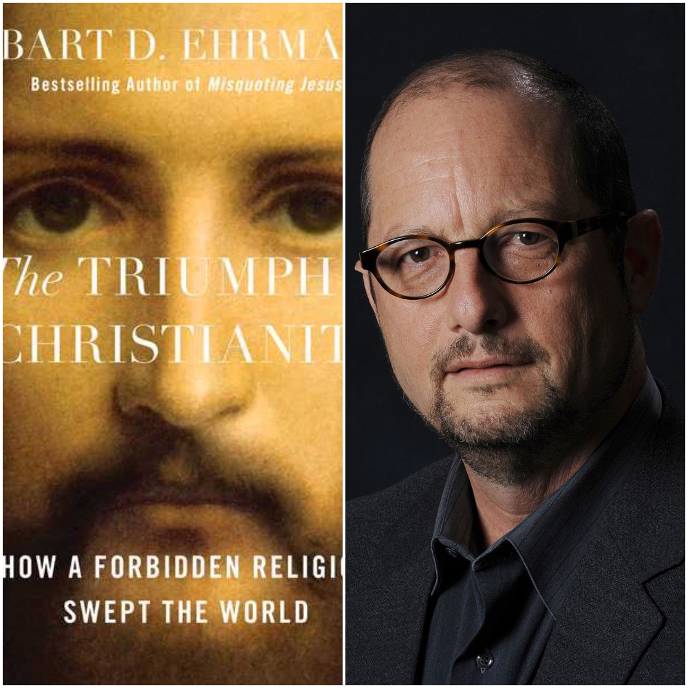 Caption: Bart Ehrman, The Triumph of Christianity