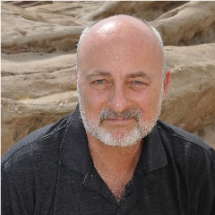 Caption: Author and futurist David Brin, Credit: Cheryl Brigham