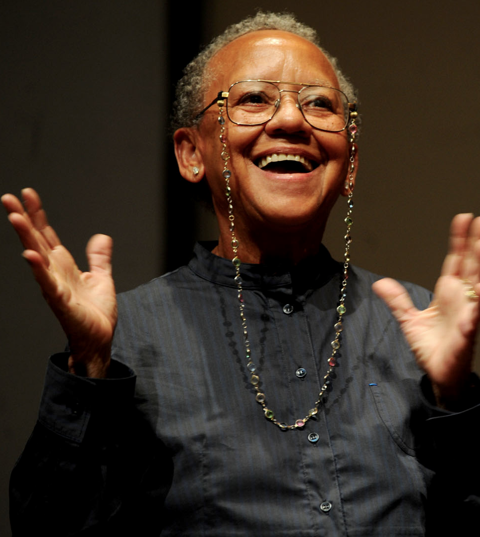 Caption: Nikki Giovanni