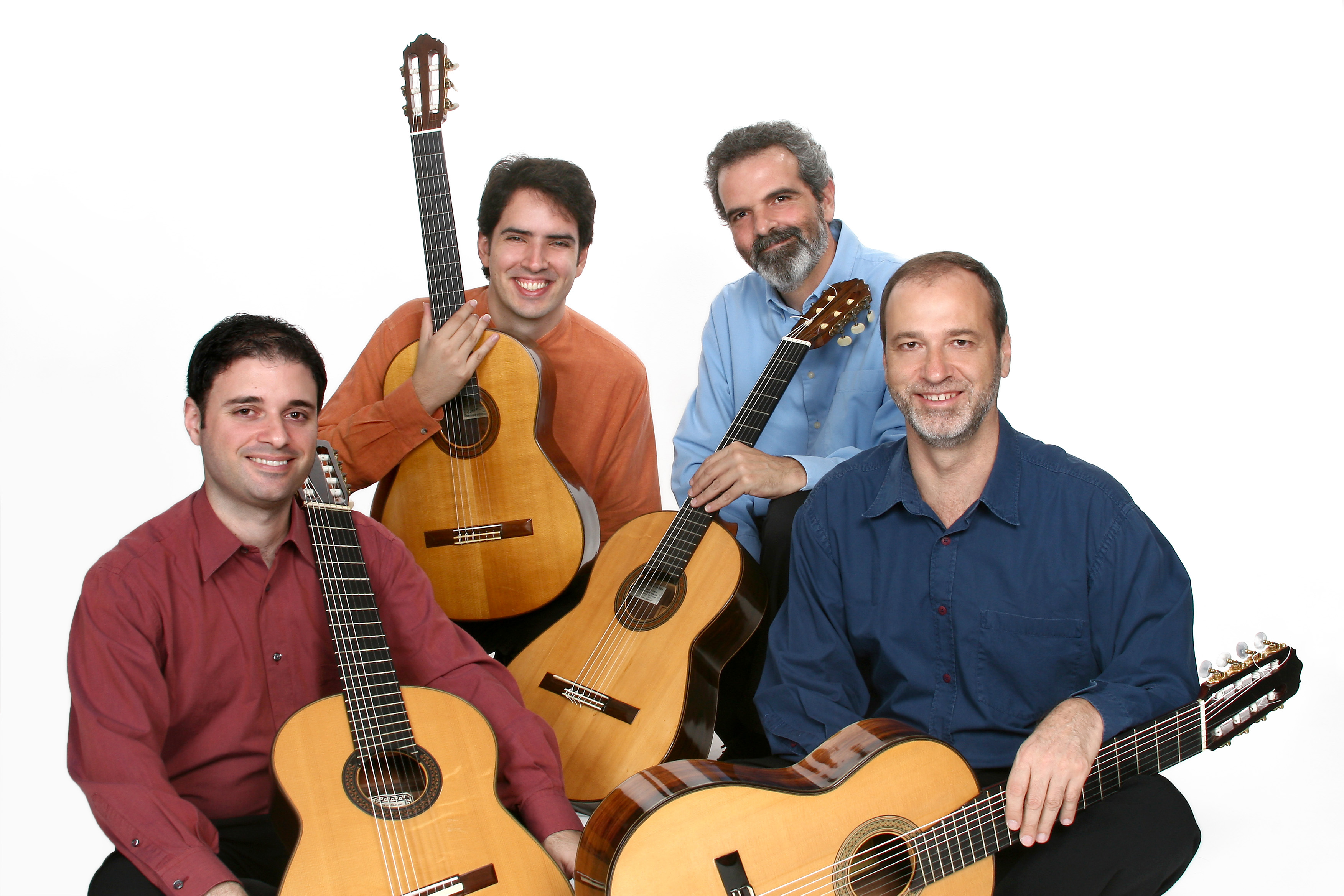 Caption: Brazilian Guitar Quartet