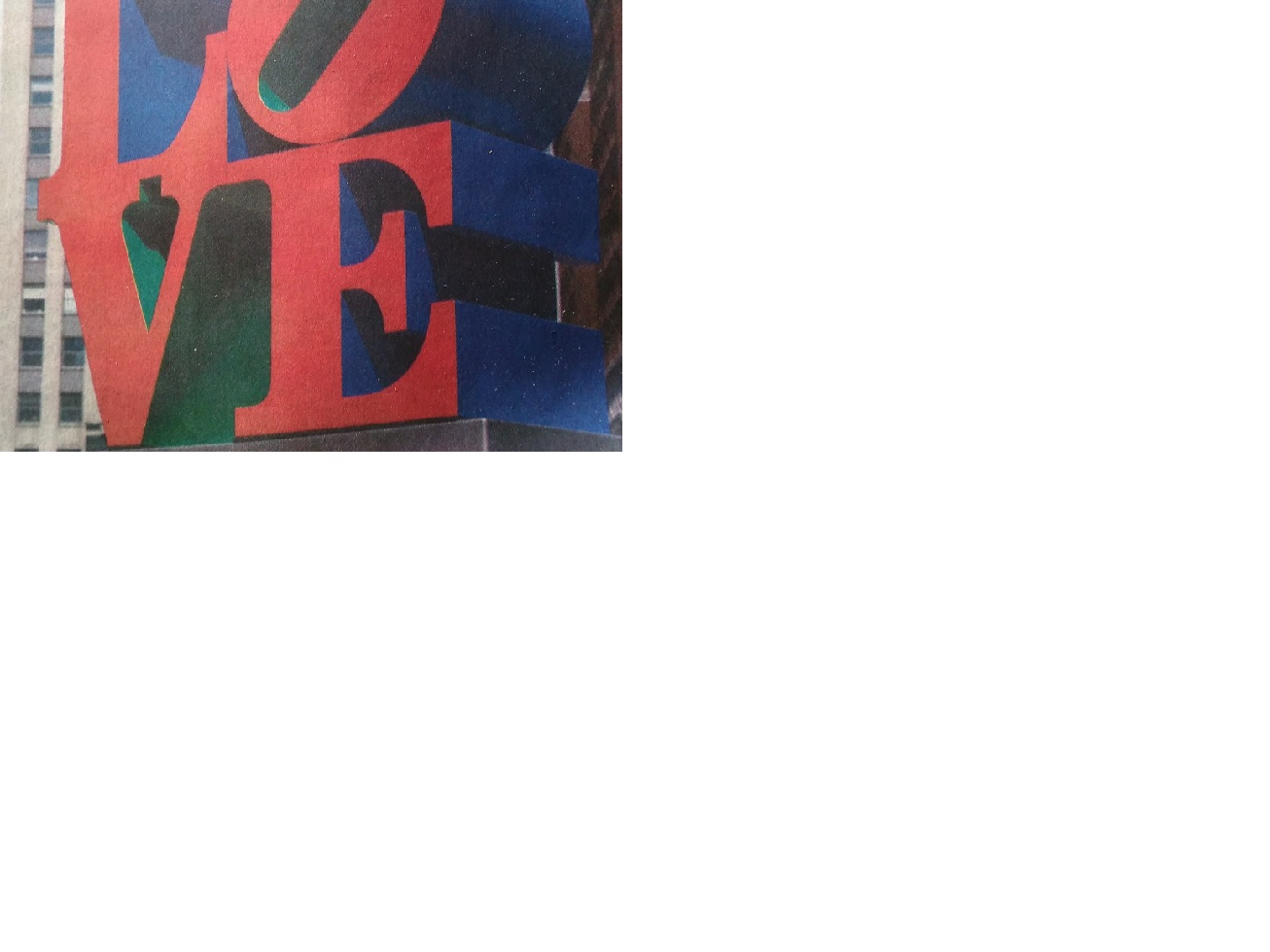 Caption: Robert Indiana grew up in a home where the word love was never said., Credit: Susan Cook photo of AP photo