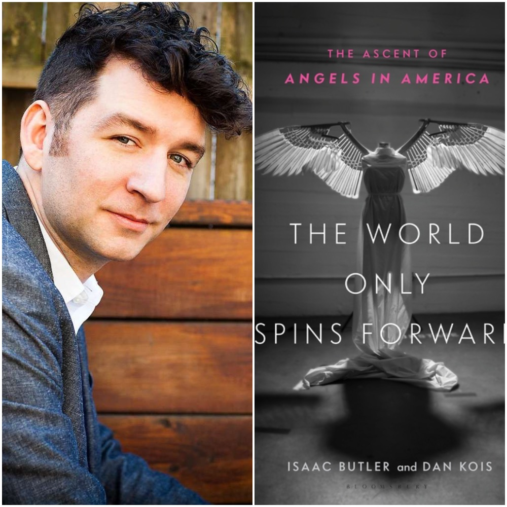 Caption: Isaac Butler, co-author of The World Only Spins Forward