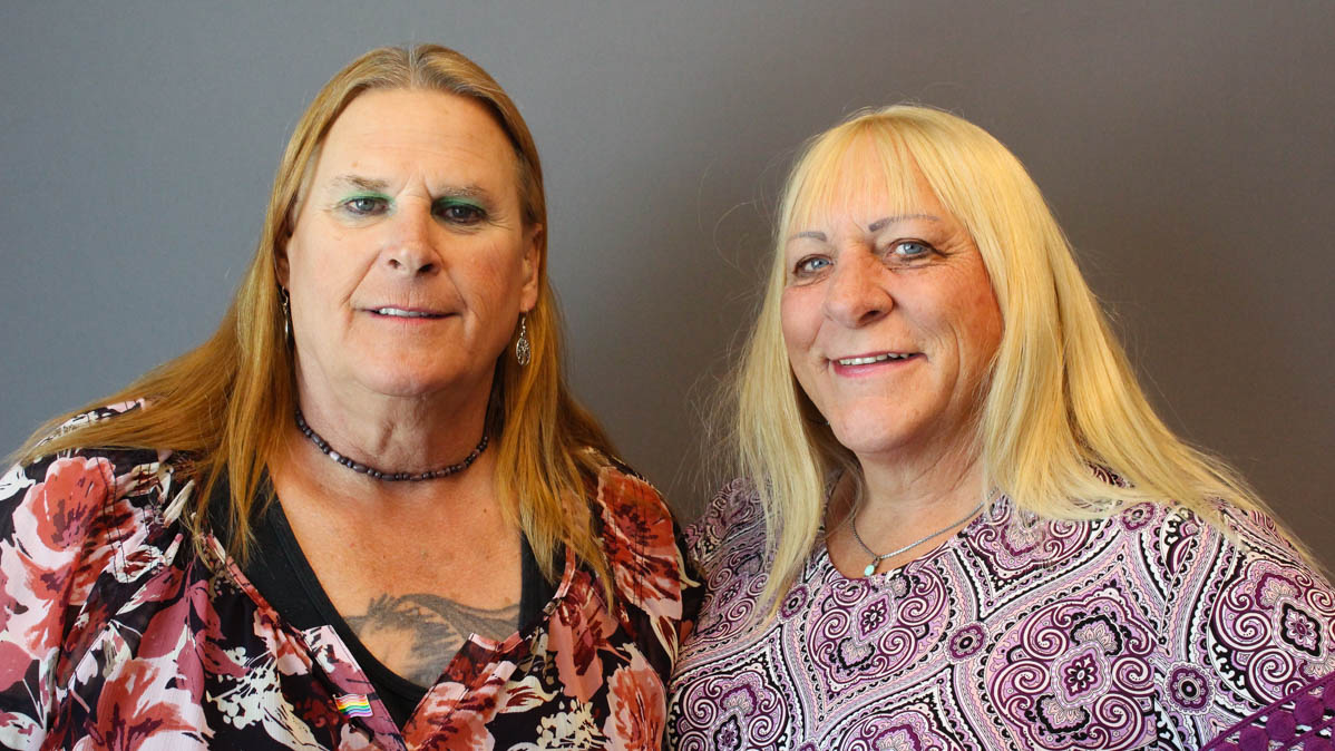 Caption: Sue McConnell (left) and Kristyn Weed (right)