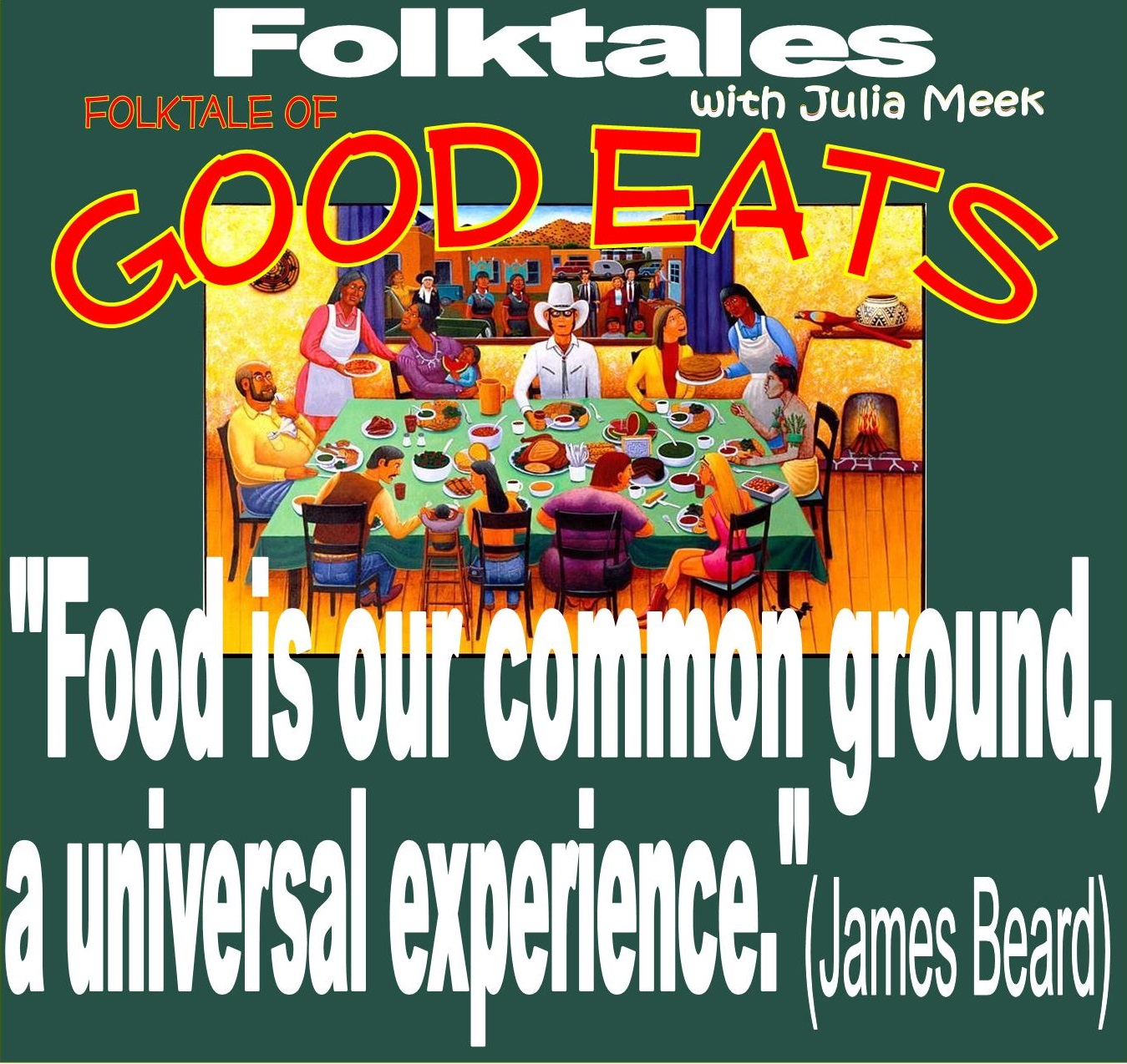 Caption: WBOI's Folktale of Good Eats, Credit: Julia Meek