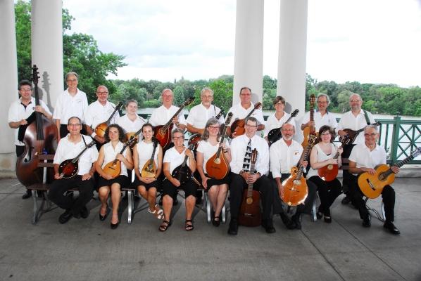 Caption: Minnesota Mandolin Orchestra, Credit: Steve Rouch