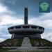 Caption: Buzludzha as it appears today.