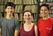Caption: OutCasting youth participants Alex, Lauren, Andrea