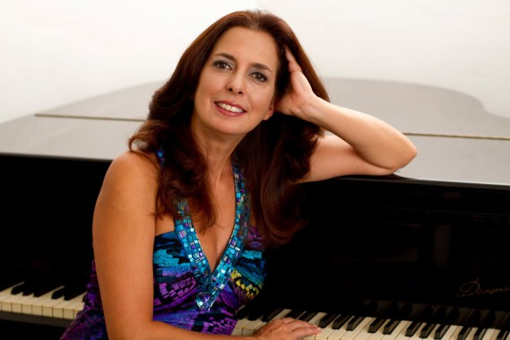 Caption: Venezuelan pianist Clara Rodríguez