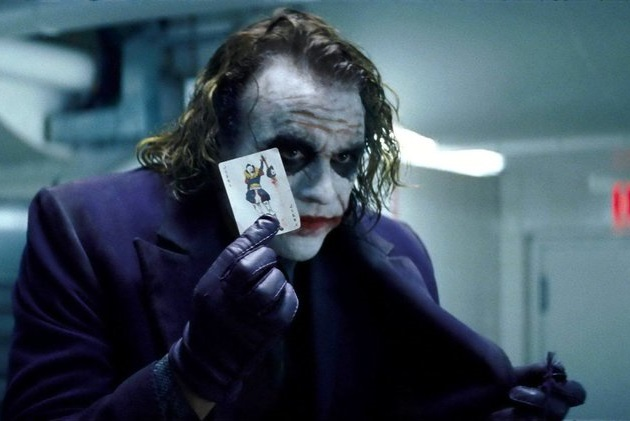 Caption: Heath Ledger in Christopher Nolan's 'The Dark Knight' (2008)
