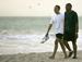 Caption: Barack Obama on Kailua Beach, Credit: Mike Burley | The Honolulu Star-Bulletin  August 2008