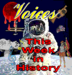 Caption: Voices This Week In History, Credit: SLG