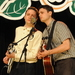 Caption: Ruen Brothers on the WoodSongs Stage.