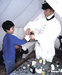 Caption: At the surgeon's tent, Credit: Jamestown Yorktown Foundation