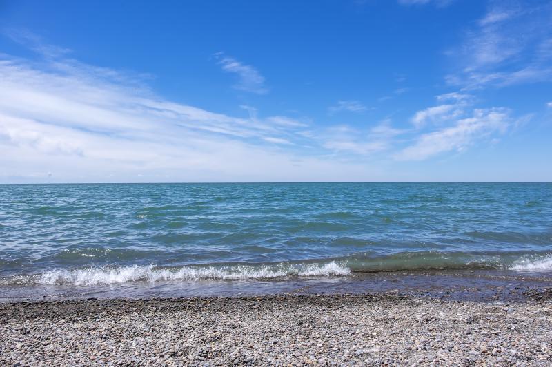 Caption: Lake Erie North Shore