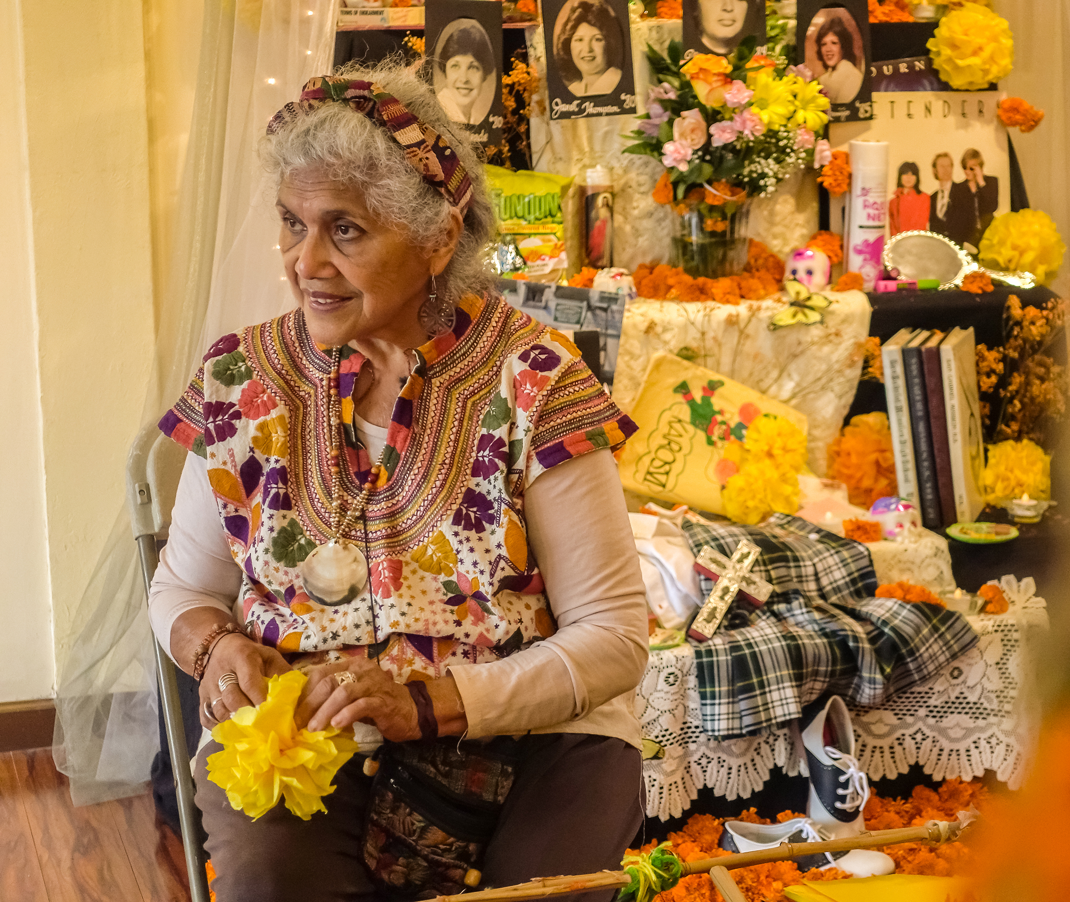"Caption: Ofelia Esparza, Credit: Mark Markley for ""Craft in America"""