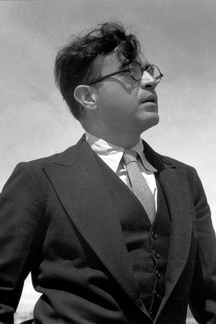 Caption: Mexican composer Carlos Chávez