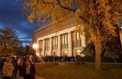 Caption: Hill Auditorium, Ann Arbor, Michigan