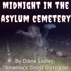 "Caption: Image is an actual photo taken by a ghost tour guest inside the asylum cemetery. Could this be the infamous ""Gassy Ghost""?"