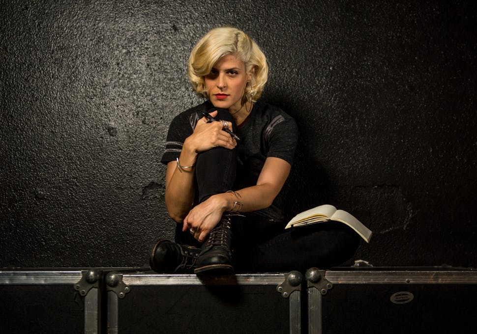"""Caption: Dessa, author of """"My Own Devices"""", Credit: Aaron Lavinsky"""