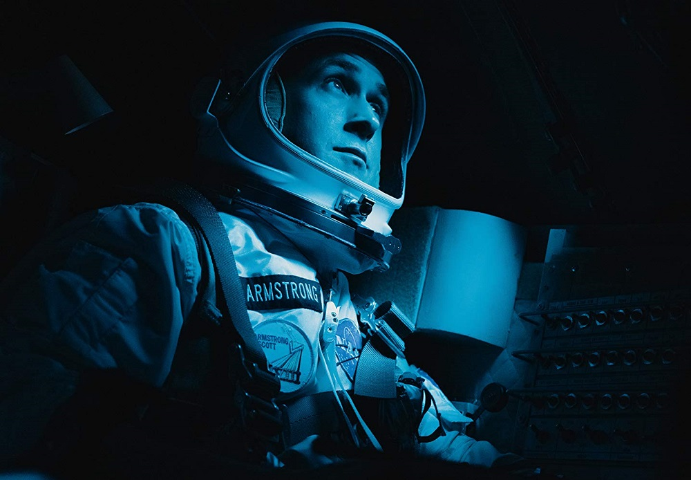 Caption: Ryan Gosling in 'First Man'
