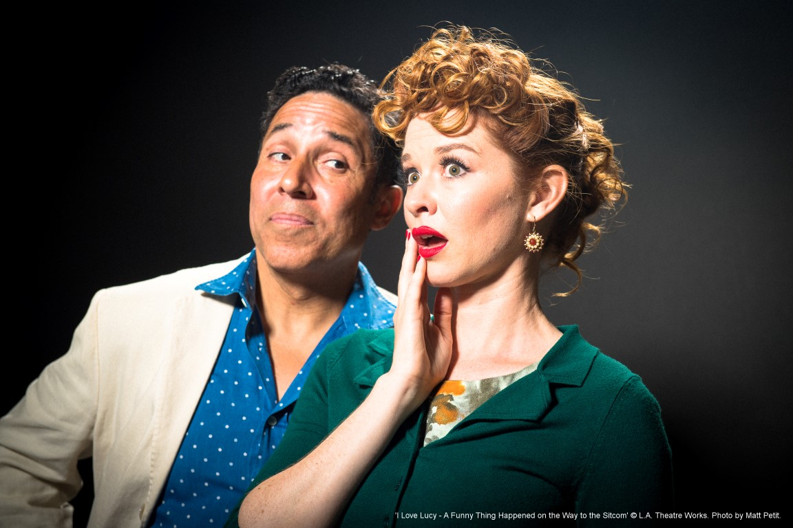 Caption: Oscar Nunez and Sarah Drew. , Credit: Photo by Matt Petit