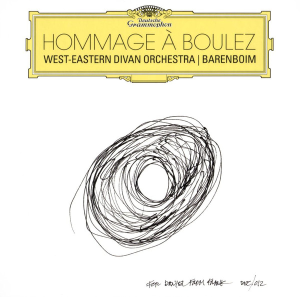 Caption: Hommage a Boulez, Credit: deutschegrammophon.com