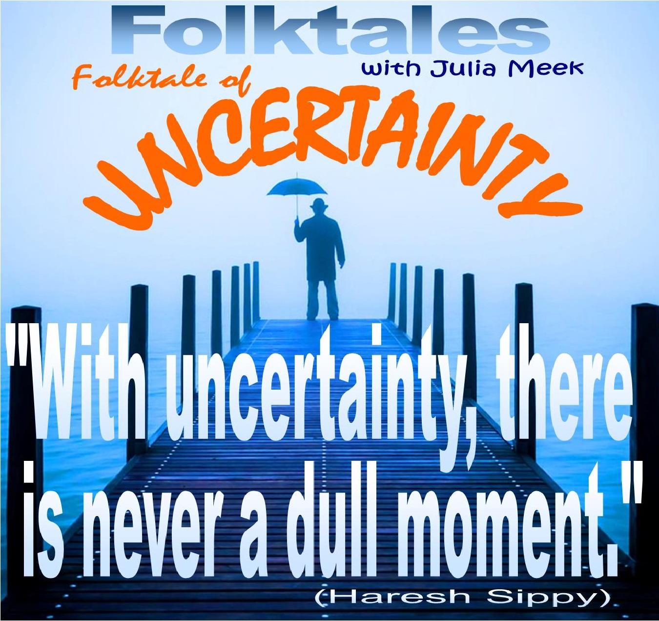 Caption: WBOI's Folktale of Uncertainty, Credit: Julia Meek