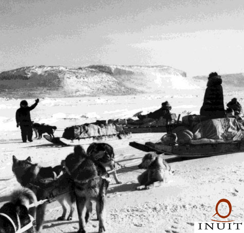 "Caption: From ""The Sea Ice is Our Highway: An Inuit Perspective on Transportation in the Arctic"" a contribution to the Arctic Marine Shipping Assessment, Credit: Inuit Circumpolar Council, CANADA"