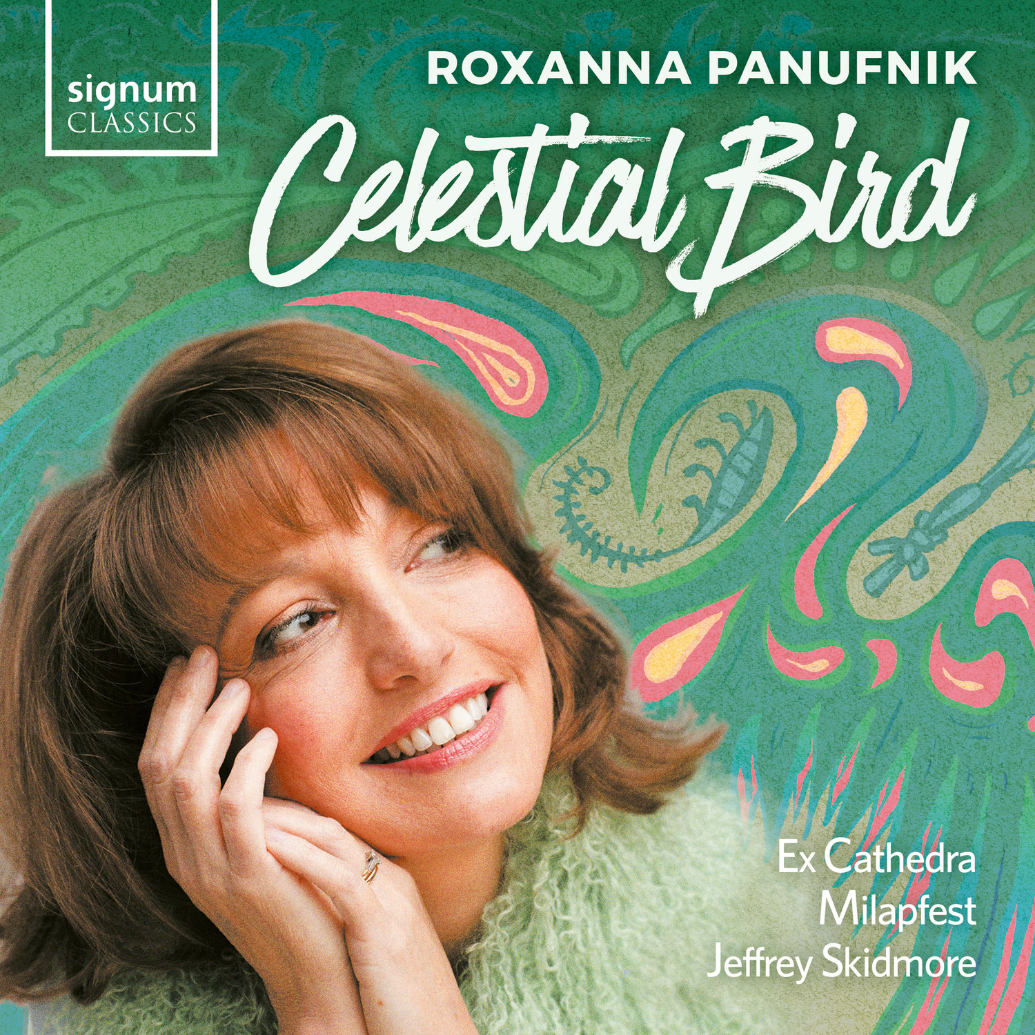 Caption: Roxanna Panufnik's Celestial Bird is featured, Credit: Signum Classics