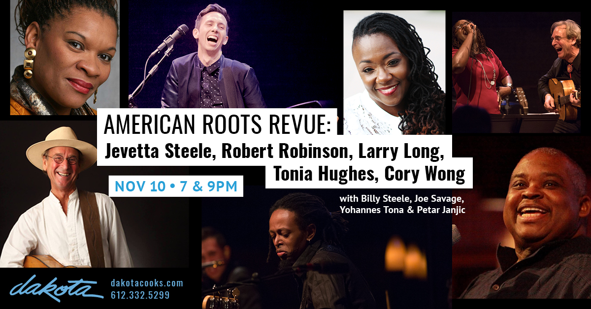 Caption: American Roots Review poster, Credit: Raquel Mendez