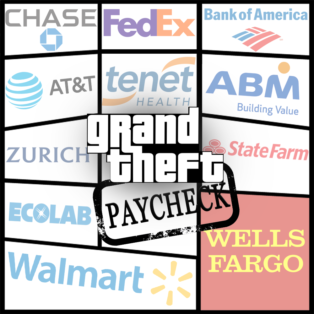 Caption: Grand Thief Paycheck