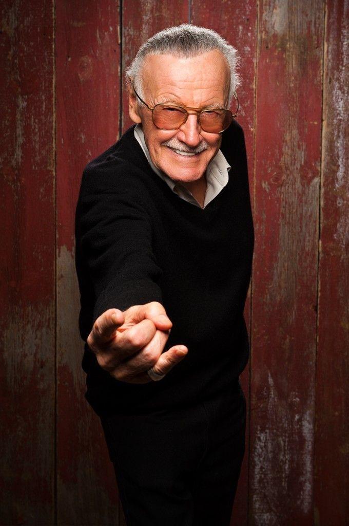 Caption: Stan Lee