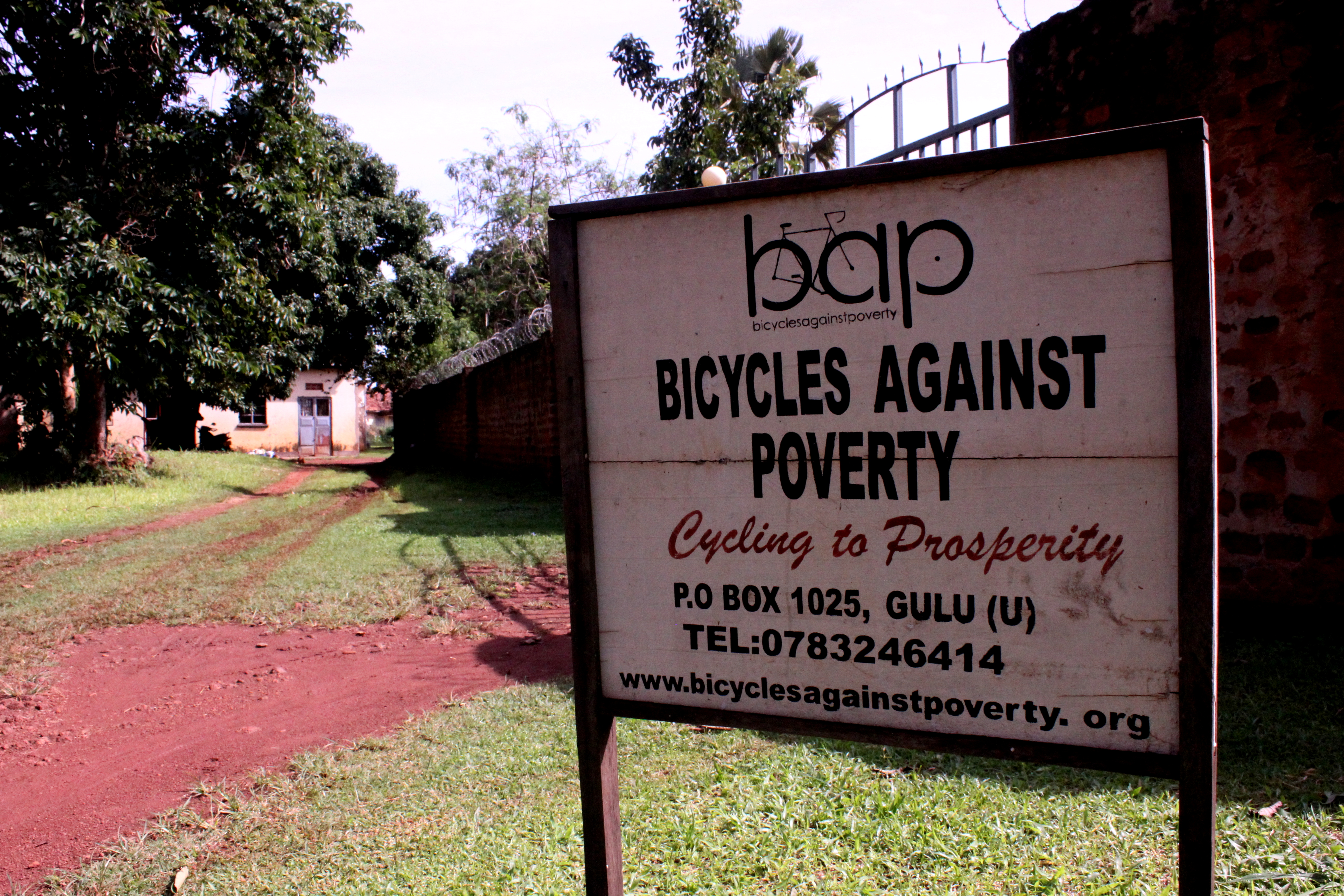 Caption: Bicycles Against Poverty, Credit: Travis Sanderson