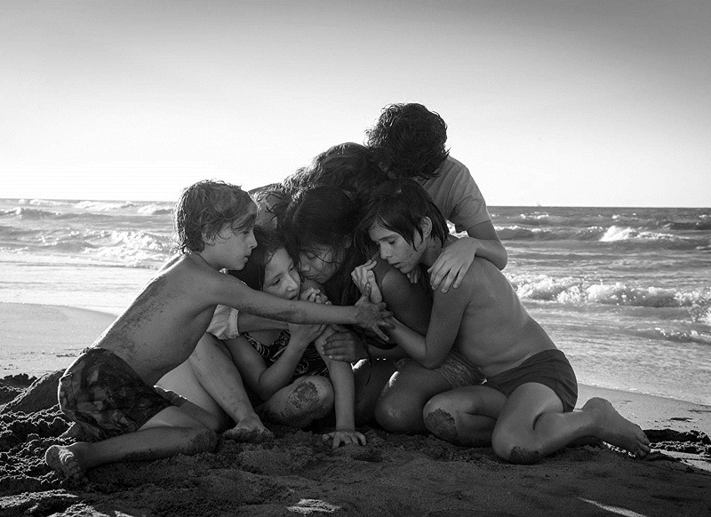 Caption: Alfonso Cuarón's Roma (2018)