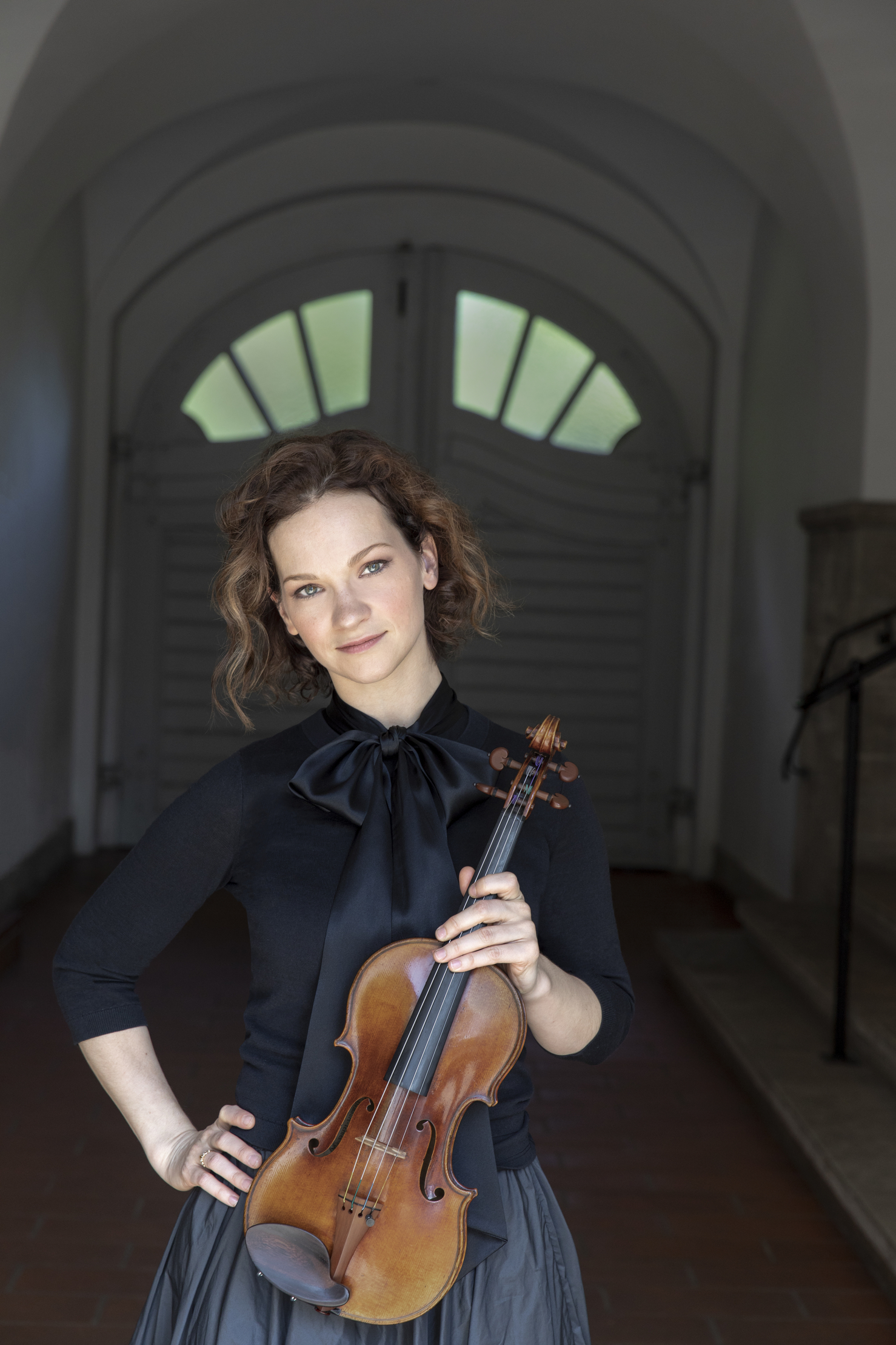 Caption: Hilary Hahn, Credit: Dana van Leeuwen