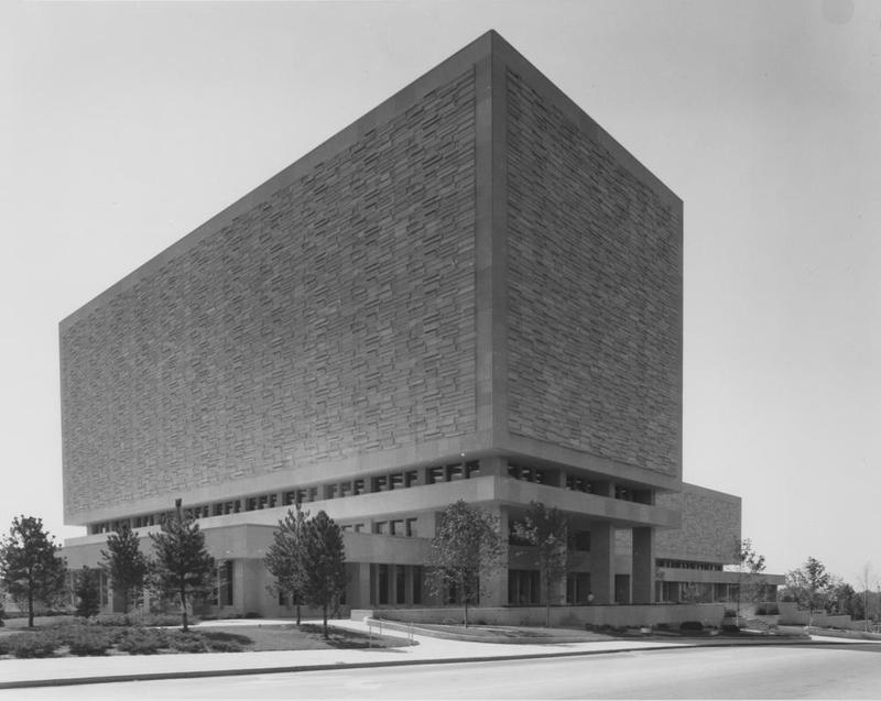 Caption: Herman B Wells Library, Credit: Indiana University Archives