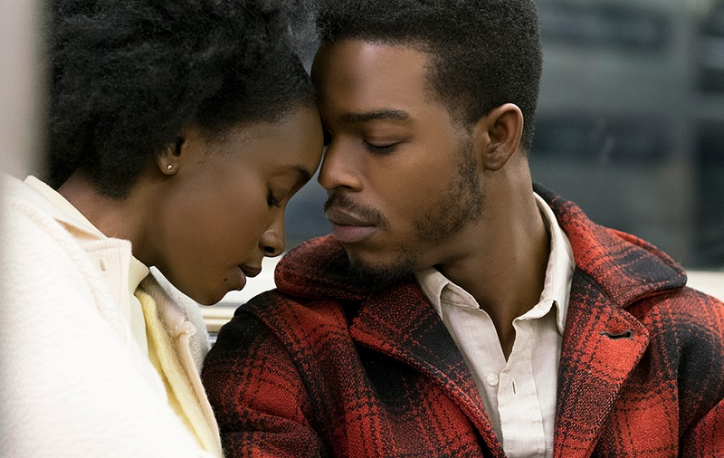 Caption: KiKi Layne and Stephan James in Barry Jenkins' 'If Beale Street Could Talk'
